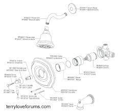 delta shower head parts shower faucet replacement parts single handle shower faucet diagram shower faucet repair
