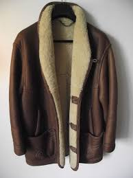 henry cotton s leather jacket with wool padding