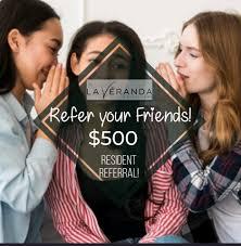 Refer a Friend to La Veranda before the... - La Veranda at Polly Lane |  Facebook