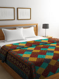 double bed comforter. Simple Comforter Mafatlal Multi Designer Cotton Double Bed Comforter With W