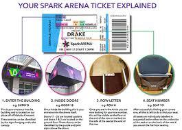 Spark Arena Seating Chart Khalid Khalid