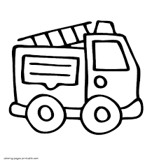 Free Fire Truck Coloring Pages Printable Glandigoartcom