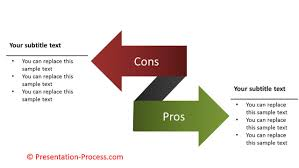 how to create pros and cons arrows powerpoint diagram series how to create pros and cons arrows powerpoint diagram series