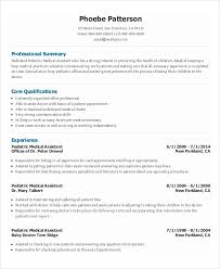 Assistant Resume 10 Medical Administrative Assistant Resume Templates Free Sample