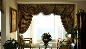 Window Treatments Ideas For Living Room Fascinating Bay Treatment Large Curved Room Treatments Pictures Popular Inspirat