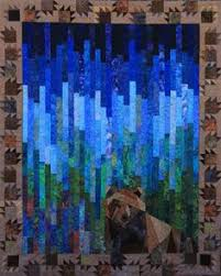Northern Lights quilt pattern, 33.5 x 24.5, by Marie Noah at ... & Quilt 108 More Adamdwight.com