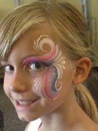 karen sawyer one stroke eye design painting ideas for kidseasy face