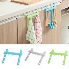 Kitchen hanging rack Storage Multifunctional Organizer Adjustable Kitchen Hanging Rack Cabinet Towel Hooks Cupboard Hanger Towel Hooks Cabinet Organizer Rakuten Multifunctional Organizer Adjustable Kitchen Hanging Rack Cabinet
