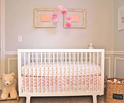 baby girl bedroom ideas. White Crib With Pink Bedding Baby Girl Bedroom Ideas
