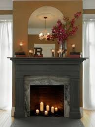 Old Fireplace Decorating Ideas -