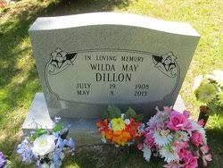 Wilda May Dillon (1908-2013) - Find A Grave Memorial