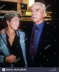 Burt Lancaster Susan Scherer, 1988, Foto von Michael Ferguson ...