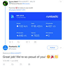 encourage your followers to share special moments runtastic encourages its users to share their acplishments on social a