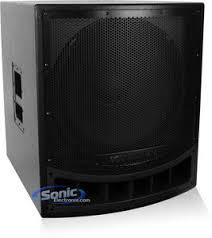 soundstream spr a inch powered active subwoofer soundstream spr 18a