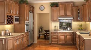 l outstanding interior home kitchen ideas featuring modern honey maple kitchen cabinet with raised panel rta types added recessed lighting light under nice types kitchen