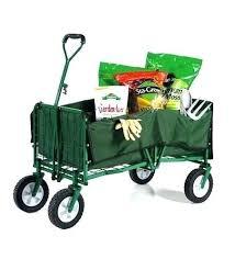 folding garden cart. Folding Garden Wagon Plow Hearth Steel Utility . Cart F