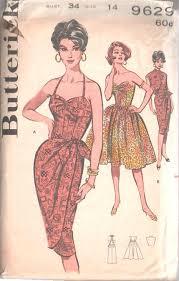 Vintage Sewing Patterns Impressive 48 Vintage Sewing Pattern B48 DRESS SARONG DRESS JACKET 48