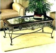 wrought iron and glass coffee table wrought iron and glass coffee table side tables black wrought