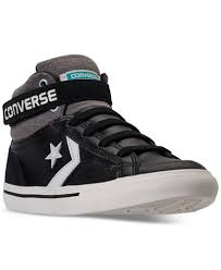 converse for kids. converse boys\u0027 pro blaze strap casual sneakers from finish line for kids