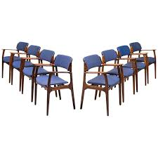 erik buch armchairs model od 49 produced by oddense maskinsnedkeri in denmark