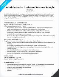 sample personal assistant resume 15 executive assistant resume 2015 leterformat