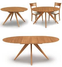 Attractive Round Extendable Dining Table Round Extending Dining Table Shoise