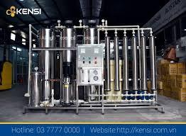 Báo giá Hệ thống Máy lọc nước RO công nghiệp công suất lớn
