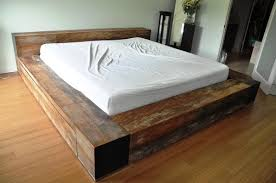 Homemade Wooden Bed Designs Homemade Wood Platform Bed Diy Beds Wood Platform Bed