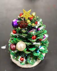 DIY Christmas Tree From Pine Cone  Craft Ideas  YouTubePine Cone Christmas Tree Craft Project