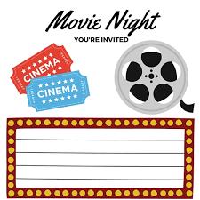 Movie Night Invitation Templates Free Printables Printable Movie Night Invite