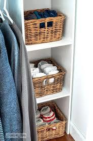 closetmaid storage baskets easy kit revamp in teens bedroom basket storage for socks and underwear on shelves closetmaid storage bins target