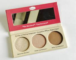 thebalm the manizer sisters highlighter palette review