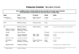 Production Schedule Template Excel Free Download Sample Daily Production Schedules Schedule Template