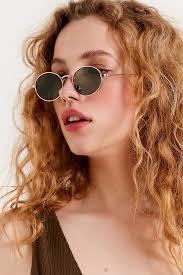 <b>Oval</b> Metal Sunglasses em 2020 | Óculos de sol para mulheres ...