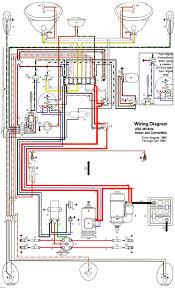 thesamba com type 2 wiring diagrams 1966 mustang lighting wiring 1985 ford f150 ignition wiring diagram at 79 Mustang Wiring Diagram
