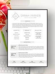 Creative Resume Template Modern Resume Design For Word 12