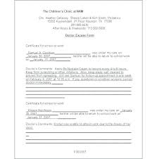 Fillable Doctors Note For Work Patient Free Doctors Excuse Fillable For Work First Note