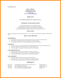 Resume For Clerical Position Resume For Clerical Position Kadil Carpentersdaughter Co