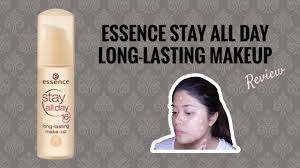 essence stay all day 16 hrs foundation review