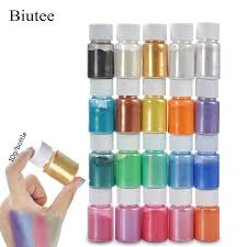 <b>Biutee 20 Colors</b> Mica Glitter Sculpture Powder Pigment Kit ...