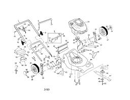 Craftsman push mower parts diagram p ultramodern screenshoot