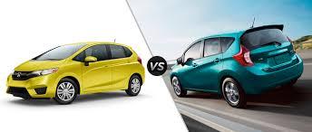 Honda Fit vs Nissan Versa Specs and Design Compared