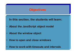 4 objectives