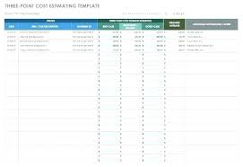 Project Estimate Template Excel Project Cost Summary Template Excel Costing Sheet Template