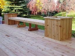 1000 images about deck ideas on pinterest deck benches cedar deck and benches cedar bench plans