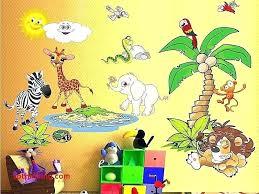 jungle wall stickers jungle wall decals wall decals jungle unique jungle wall decal for nursery kids