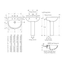 pedestal sink dimensions standard bathroom size for inside prepare small sizes