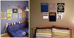 easy diy wall art ideas for teen boy bedroom s diyprojects