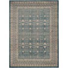 sofia blue beige 9 ft x 12 ft area rug