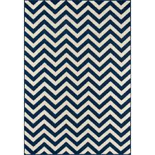 momeni baja chevron navy 5 ft 3 in x 7 ft 6 in